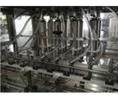 Auto 4 In 1 Carbonated Filling Machine With Plc Control 12 Months Warranty