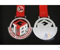 Metal Sports Soft Enamel Custom Award Medals Swmming Marathon Events Antique Silver Plating Medallio