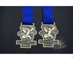 Finisher Metal Zinc Alloy Running Custom Award Medals Cheering Sports Marathon Medallion