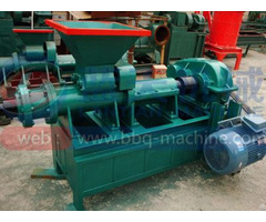 Charcoal Extruder Machine