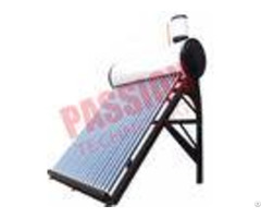 White Color Pre Heated Solar Water Heater