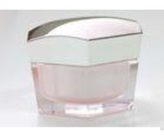 30g 50g Plastic Cosmetic Packaging Hexagon Cream Jar Organic Abs Personal Care
