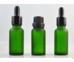 Glass Dropper Empty Cosmetic Containers Frosted Essential Oil 15ml Face Cream Jars