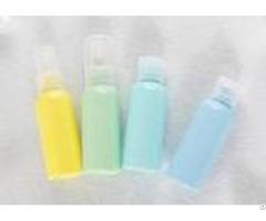 Plastic Pet Cosmetic Travel Kit 30ml 50ml Oem With Pump Sprayer Screw Cap