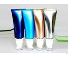 Tube Style Airless Cosmetic Bottles Shiny Plastic Sgs 30ml 35ml Empty Pp