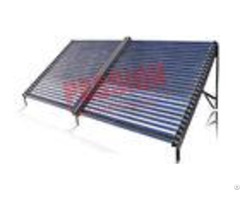 Heat Pipe Evacuated Tube Solar Collectors