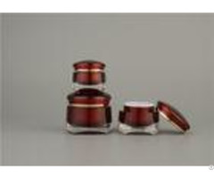 Abs Inner Cap Cosmetic Cream Jars Tuv Acrylic Oem Odm With Spray Painting