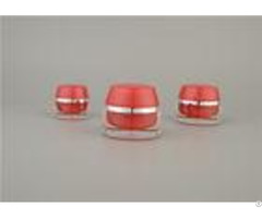 15g 30g Face Cosmetic Cream Jars Acrylic Custom Color With Uv Coating