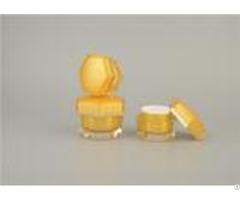 Plastic Empty Cosmetic Cream Jars Pe Pp 15ml 30ml Make Up Facial Oem