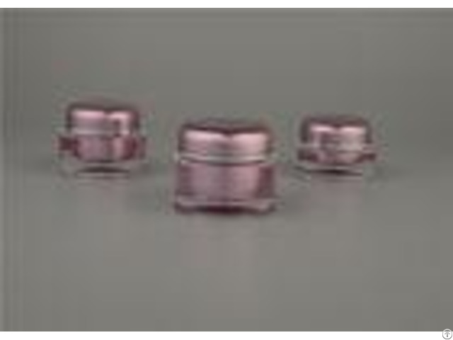 30g 50g Acrylic Cosmetic Cream Jars Skin Care With Abs Cap Hot Stamping