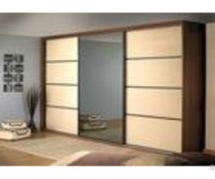 Prima Home Bedroom Closets And Wardrobes Hinged Door With Mirror 600mm Deep