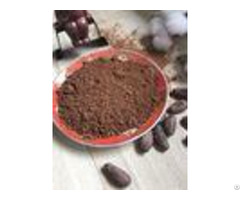Fat Reduced Natural Alkalized Dark Cocoa Powder For Confectionery Making Chocolates