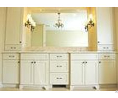 Villa Customized Free Standing Bathroom Vanity Cabinets Painted 5 Times For Scratch Proof