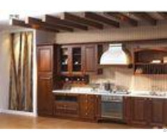 Modern High End Kitchen Cabinets Mdf Plywood Solid Wood Door And Drawer Material