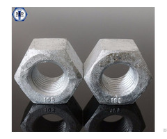 Astm A563 Gr A Hex Nuts With Hdg