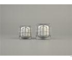 Plastic Custom Small Cosmetic Cream Jars Acrylic With Hot Stamping 30g 50g