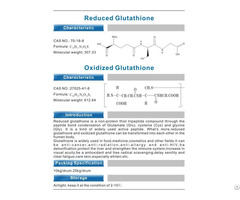 Glutathione Powder And Supplement 400mg 600mg Oem Service