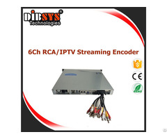 High Density Cvbs Iptv Encoder