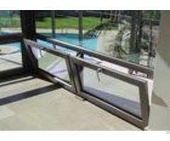 Low E Aluminium Tilt And Turn Casement Windows Vertical Horizontal Opening