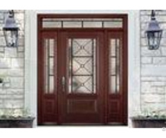 Simple Single Solid Oak Front Doors With Glass Main Wooden Door Designs For Home