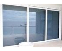Sliding Glass Commercial Aluminium Doors Powder Coated With Undisturbed Views