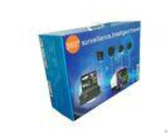 4ch 720p Mobile Hd Dvr Kit With Monitor For Logistics Build In G Sensor Gps Function