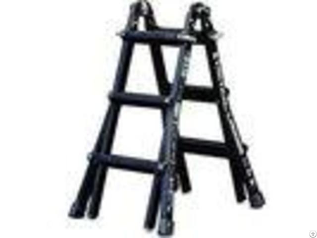 High Strength Counter Terrorism Equipment Aluminum Alloy Loading Telescopic Ladder