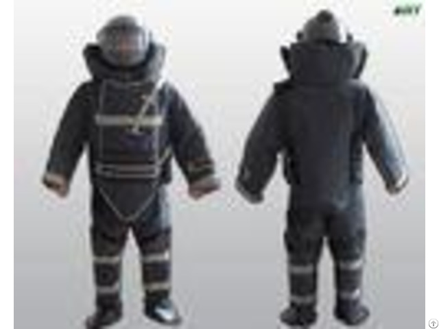 High Performance Counter Terrorism Equipment All Round Protection Eod Bomb Suit