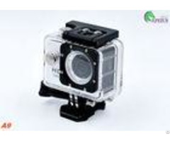 Diving 5mp Head Camera Waterproof A9 140degree Lens Gopro Bike Helmet Mount Cam