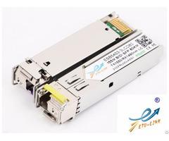 New Sfp 155m Bidi 80km Optical Transceiver Cisco Huawei Compatibility