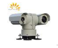 Ptz Surveillance Long Range Vehicle Mounted Dual Thermal Imaging Camera