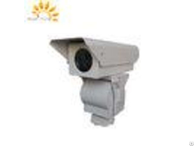 Long Range 1080p Fog Penetration Camera For Seaport Coastal Surveillance