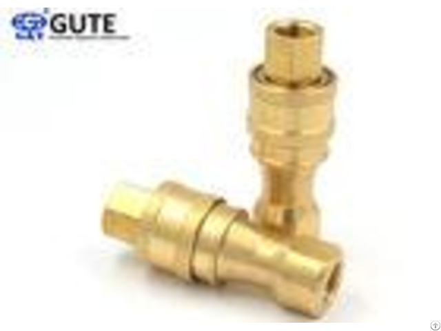 Durable Kzd Series Brass Quick Coupler 1 2 Inch Preventing Uncoupled Leakage