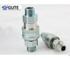 """Male Thread Hydraulic Quick Disconnect Couplings 3 8"""" For Agricultural Equipment"""