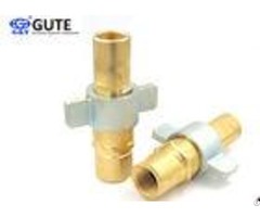 "1"" Brass Hydraulic Quick Couplers Under Pressure Interchange With Parker 6100 Series"