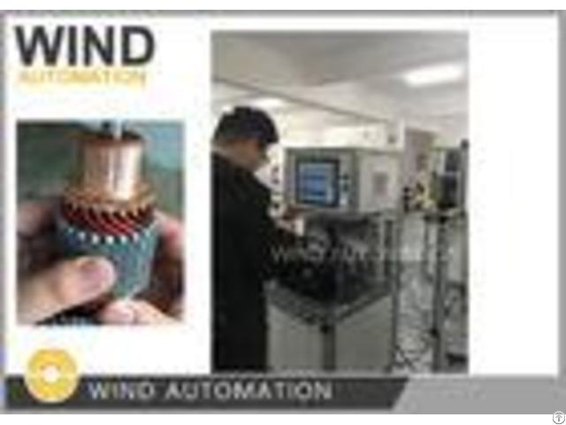 Commutator Od Below 60mm Starte Armature Testing Machine Wind Ats 02