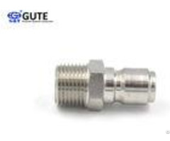 Stainless Steel Straight Through Coupler Gt K1 08 1 Inch For High Pressure Water