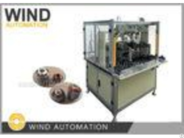 Fully Automatic Ceiling Fan Stator Winding Machine For Od Below 110 Height 70mm