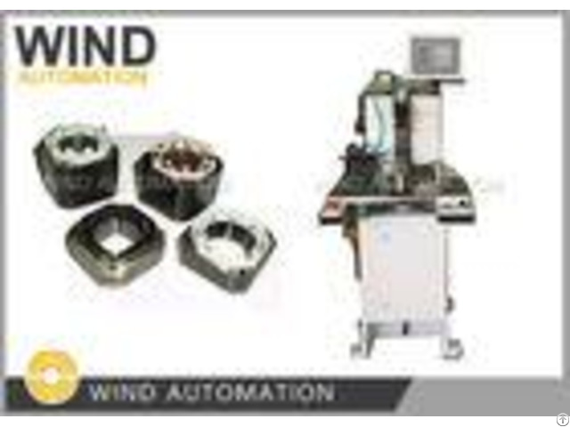 Rounded Square Stator Needle Winding Machine For Brushless Stepping Motor