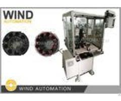 Muti Poles Stator Teeth Needle Winding Machine For Brushless Stepping Dc Motor