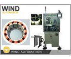 Three Needles 12 Poles Bldc Winding Machine Stator Inner Winder