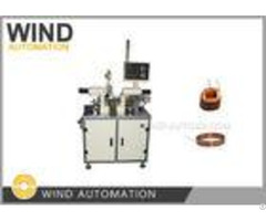 Self Bonded Wire Winding Machine For Slotless Motor Coil Winder