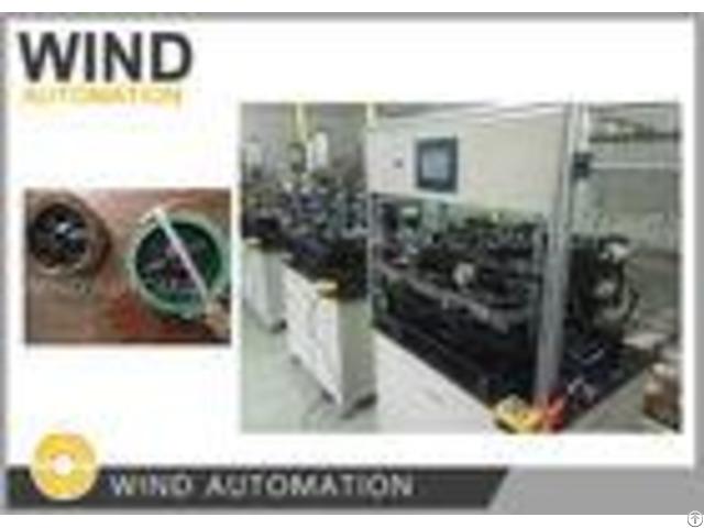 E Bike Wheel Coil Winding Machine For Brushless 12 24 36 Poles Hub Motors