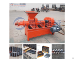 Silver Charcoal Extruder Machine