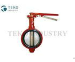 Bubble Seal Rubber Seat Api609 Butterfly Valve Iso7005 2 For Petrochemical Processing