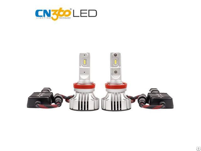 Automotive Lights 72w 6 000lm H11 Led Bulb Headlight