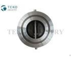 Stainless Steel Wafer Check Valve Vertical And Horizontal Installation Between Flanges