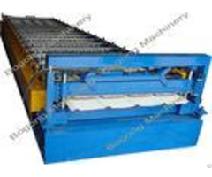 Trapezoidal Sheet Roof Panel Roll Forming Machine For Light Steel Construction