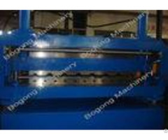 Steel Roof Sheet Custom Roll Forming Machine Double Layer 5 5kw Driving Motor
