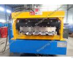 Galvanized Coil Floor Deck Roll Forming Machine Large Load Capacity